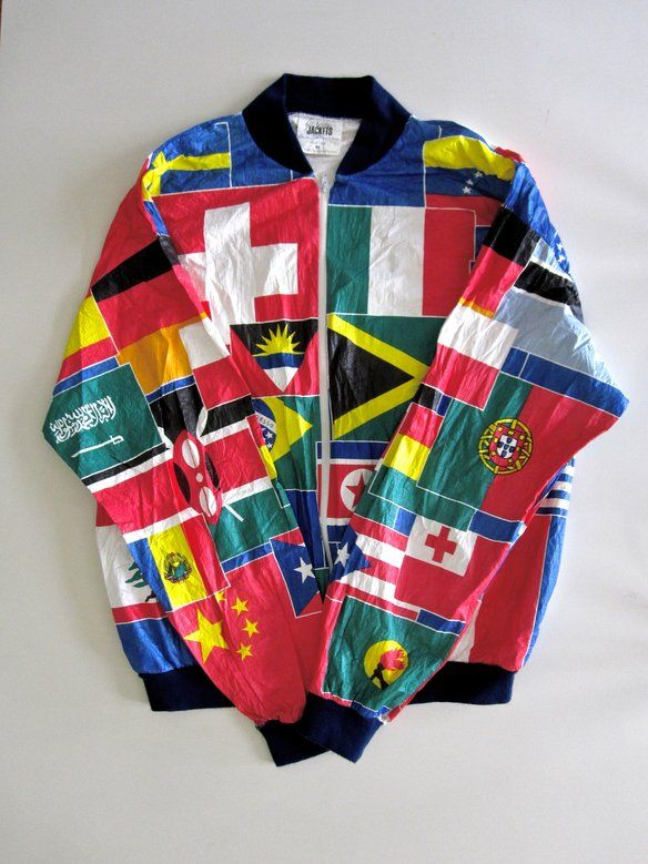 flag jacket - Google Search