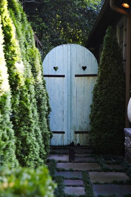Love These Whimsical Garden Doors! Definitely Adds A Touch Of Alice In  Wonderland.
