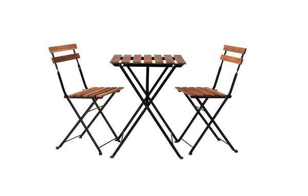 Image Un Mobilier De Jardin Style Bistrot Galerie Photos D Article 11 11 Chaise Pliante Bois Table Et Chaises Chaise Exterieur