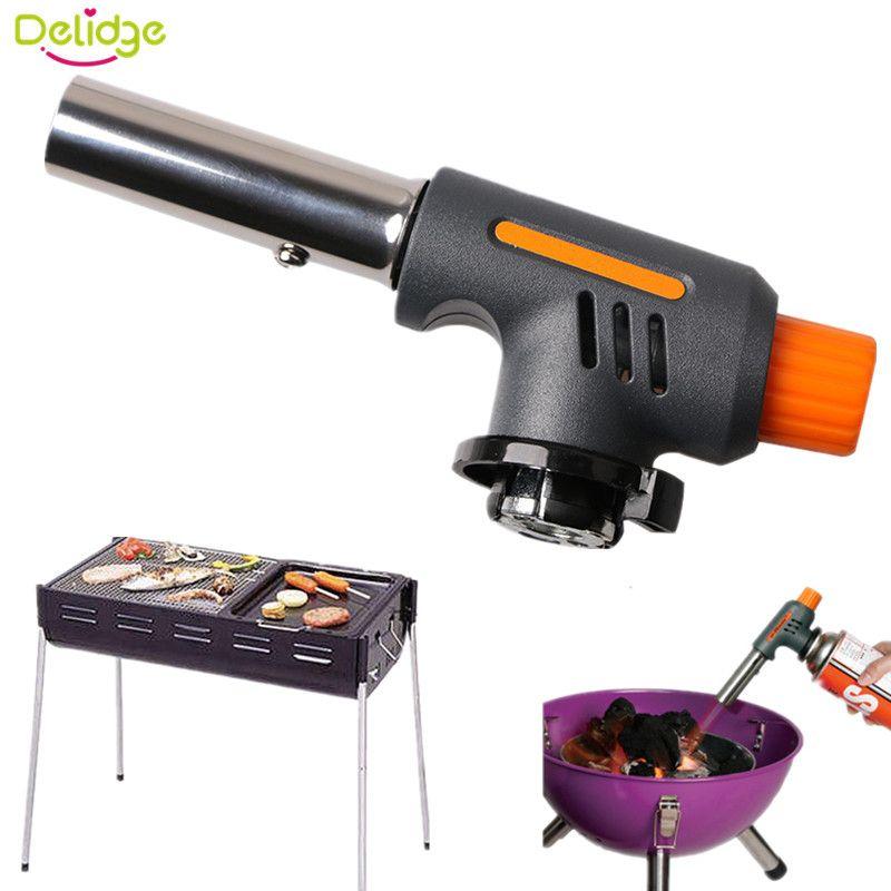 Delidge 1 STÜCK Grill Zünder Edelstahl + Kunststoff Feuerzeuge - küche mit grill