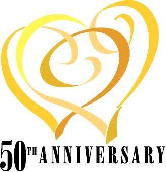 50th Anniversary Logo Wedding Ideas Pinterest Symbols