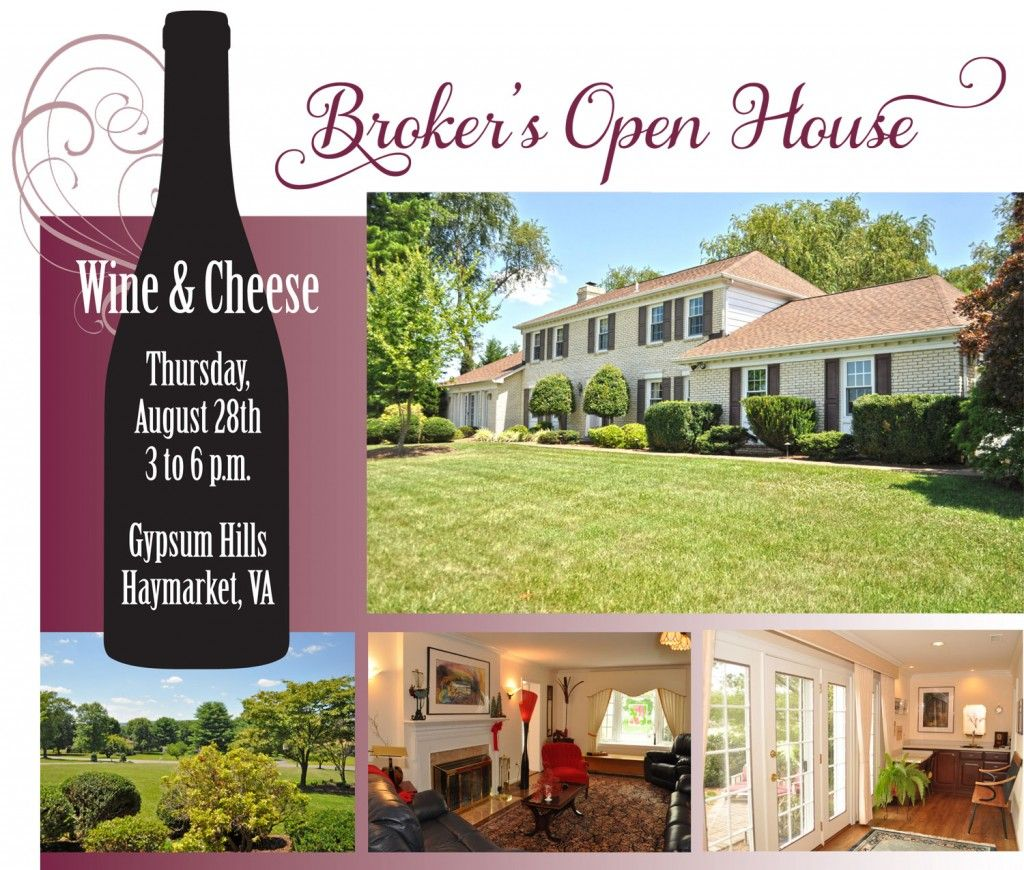 Real estate agents in haymarket gainesville manassas va area example real estate agents in haymarket gainesville manassas va area youre invited to a brokers wine cheese open house thursday to see a haymarket pronofoot35fo Gallery
