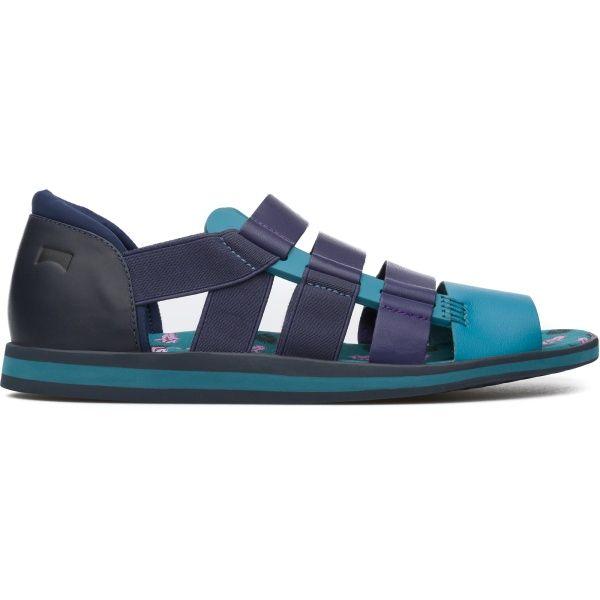 Sandalias Camper Shoes 002Ideas Multicolor Spray Hombre K100083 0wnOP8k