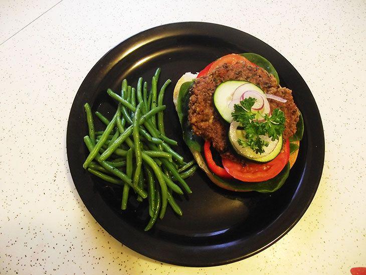 bönbiffar vegan recept