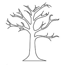 Top 25 Free Printable Fall Coloring Pages Online Fall trees and