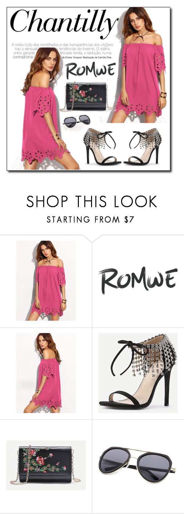 """ROMWE 7"" by woman-1979 ❤ liked on Polyvore"