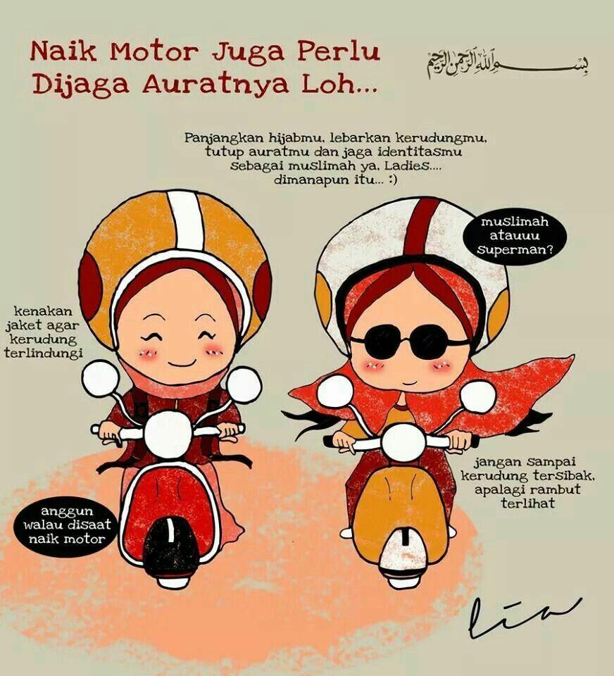 Gambar Kartun Oleh Ain Salleh Pada Wallpaper