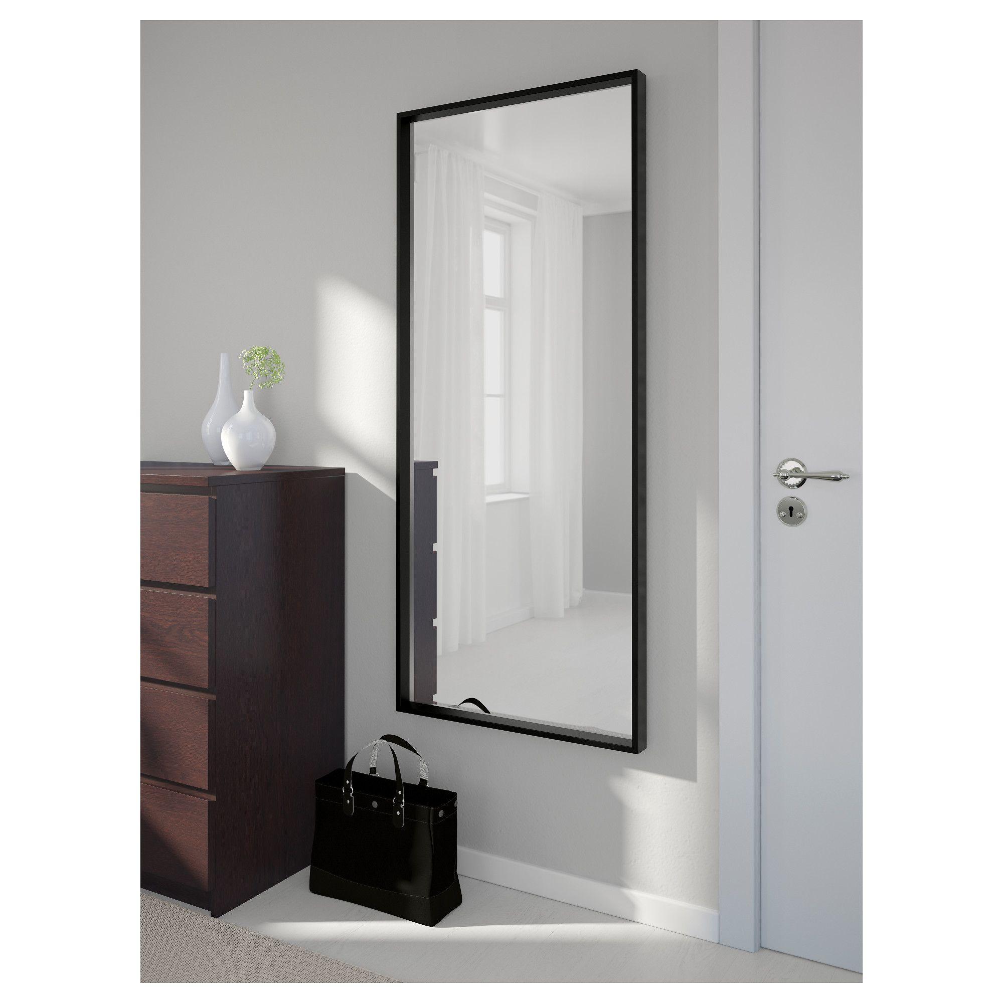 IKEA NISSEDAL Mirror black Ikea nissedal, Ikea mirror