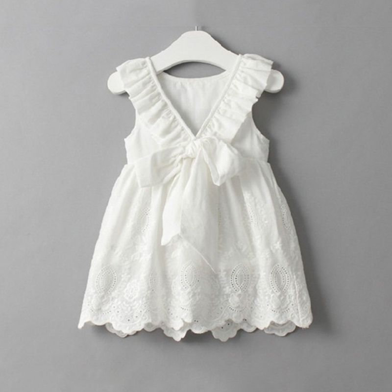 d682cace7d80 Victory! Check out my new Elegant Backless Bow Lace Dress for Baby ...