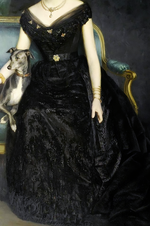 Marie Gräfin zu Münster by Harry von Hente, 1890