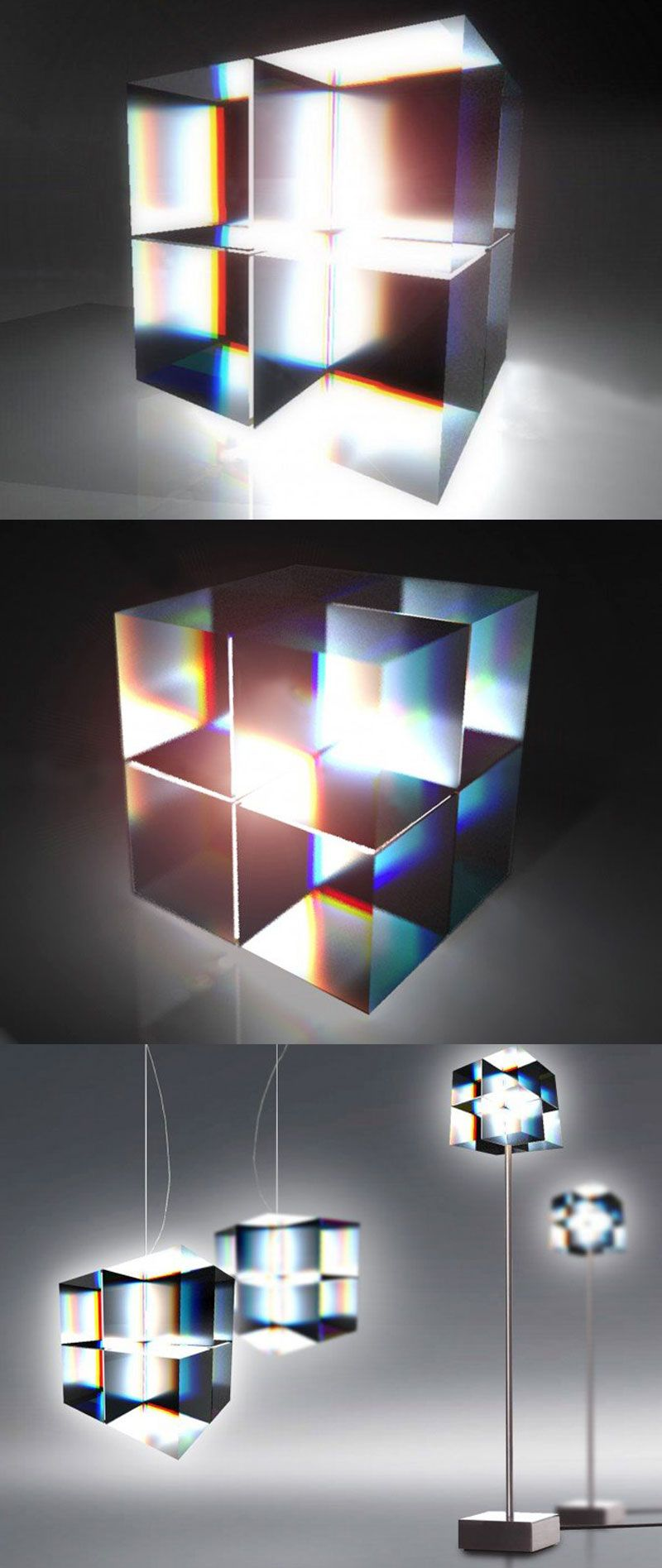 Cube Oled Lamp By Markus Fuerderer