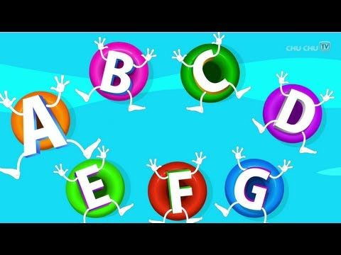 ABC Songs for Children - ABCD Song in Alphabet Water Park ...