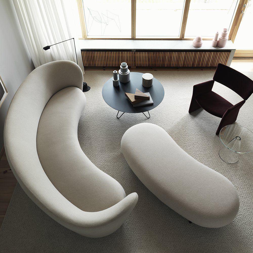 canape design blanc massproductions