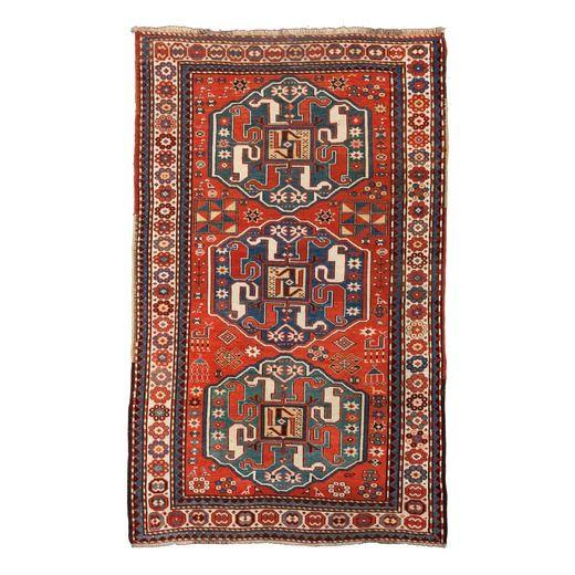 Wannenes Art Auctions   CHONDOSORESK KAZAK RUG, KARABAGH AREA, SOUTH CAUCASUS, CIRCA 1890  cm 254X157