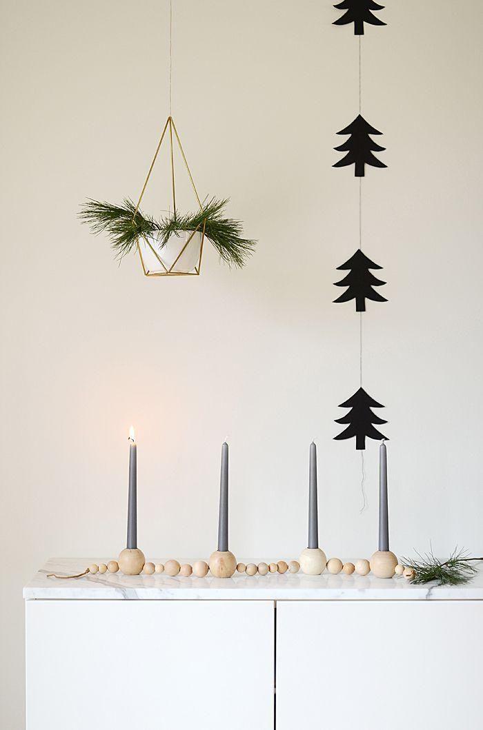 Casa Weihnachtsdeko.Diy Sencillos Para Decorar Nuestra Casa H0l D Y Christmas