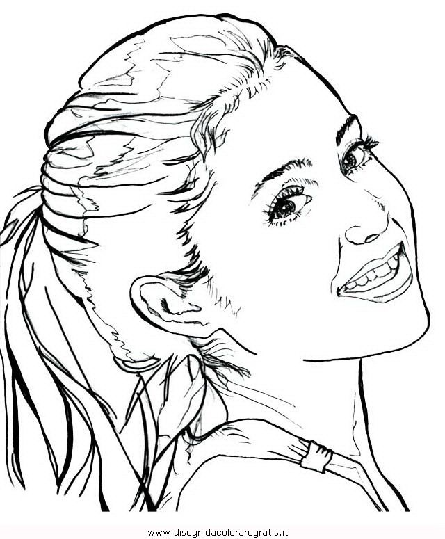 Ariana-Grande_1.JPG (640×775) | Coloring pages