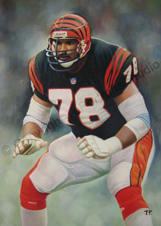 1980 First Round Pick (#3), #78 Anthony Munoz, 1980 1992. NFL HOF