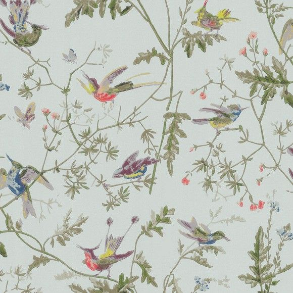 papier peint hummingbirds papier peint peindre et chambres. Black Bedroom Furniture Sets. Home Design Ideas