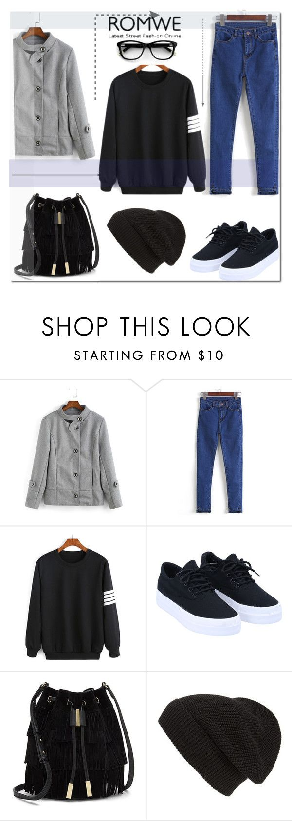 """""""romwe.com"""" by ilona-828 ❤ liked on Polyvore featuring Vince Camuto, Phase 3, romwe and polyvoreeditorial"""