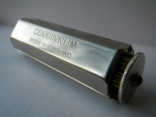 how to use concinnum rolling machine