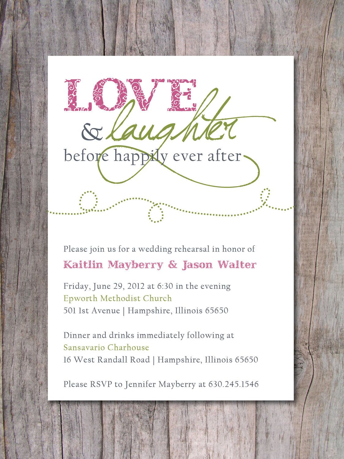 Rehearsal Dinner Invitation Happily Ever After With Images Wedding Invitation Wording Pre Wedding Party Rehearsal Dinner Invitations