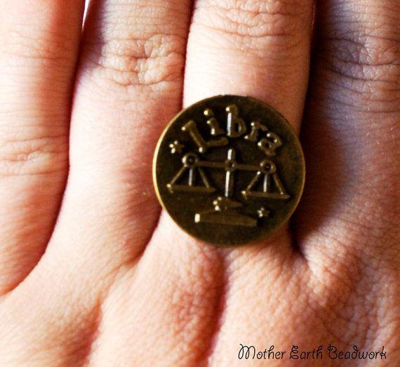 Horoscope Rings/Zodiac Rings/Capricorn by MotherEarthBeadwork, $10.00