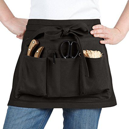 Gardening Apron. Itu0027s An Amazon Affiliate Link. La Cordeline CJN45NOC Black  Cotton Garden Apron
