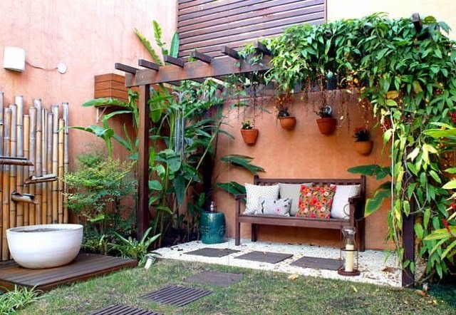 decoracion jardines rusticos | Diseño de jardines | Pinterest ...