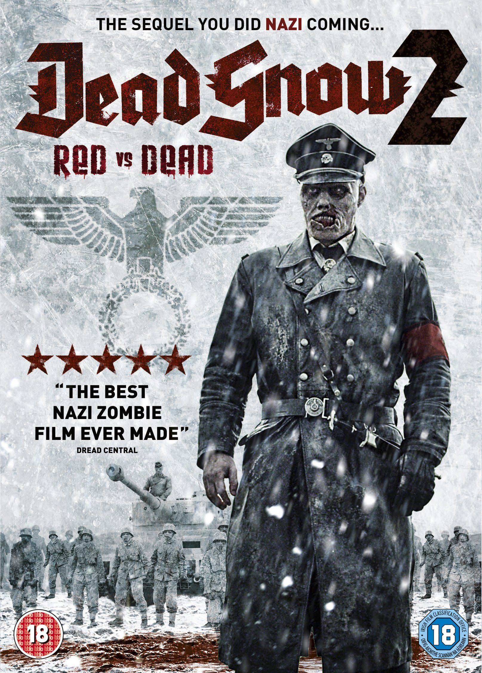 Dead Snow 2 Red Vs Dead Dead snow, Horror movie fan
