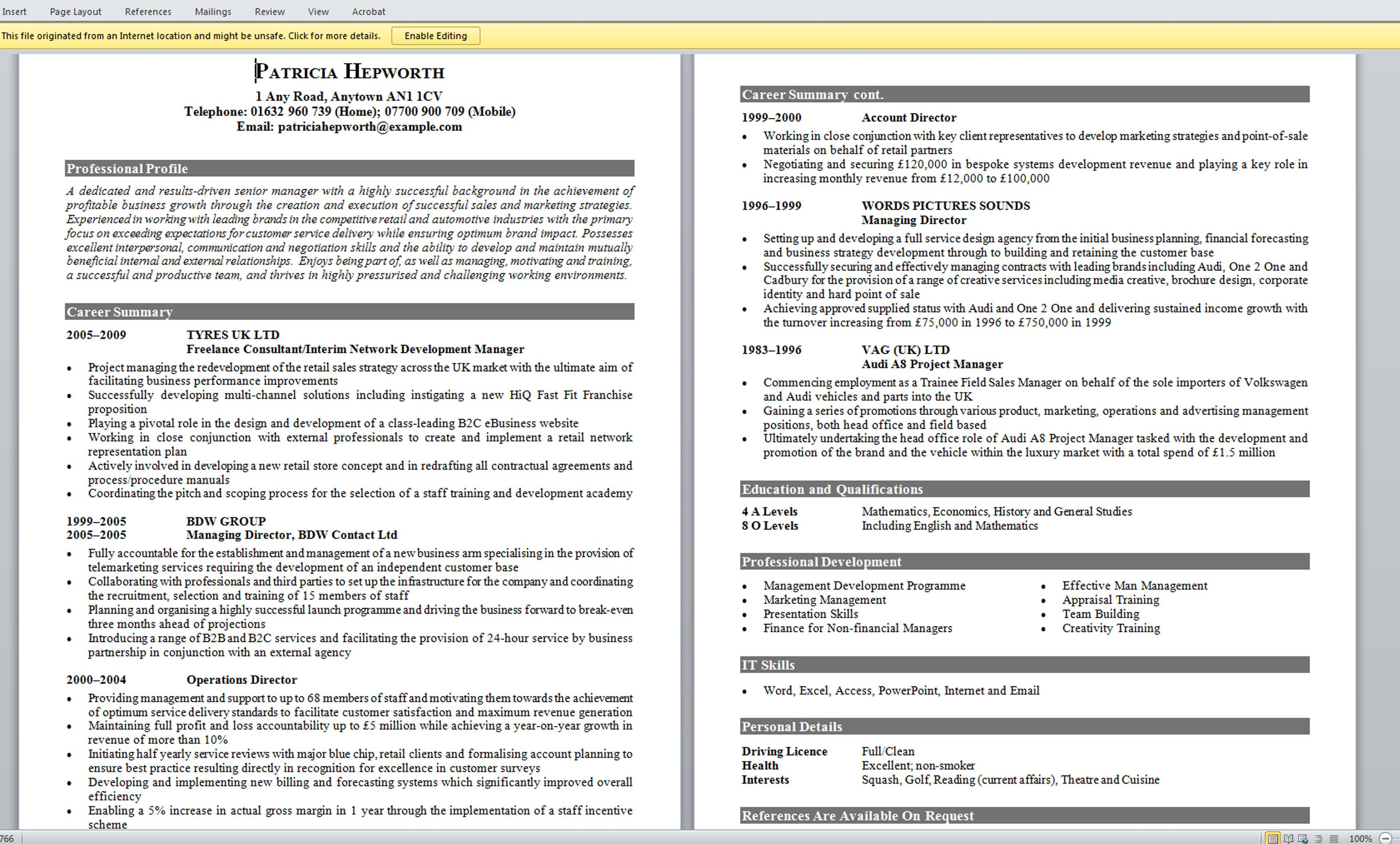 Perfect Resume Template Lebenslauf Deutsch  Resume  Pinterest  Resume Format