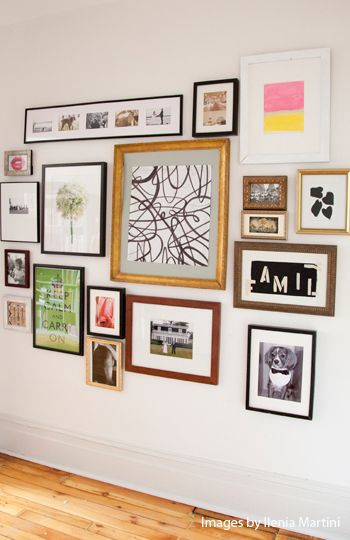 Gallery Wall Mismatched Frames Picture Wall Frames On Wall Wall