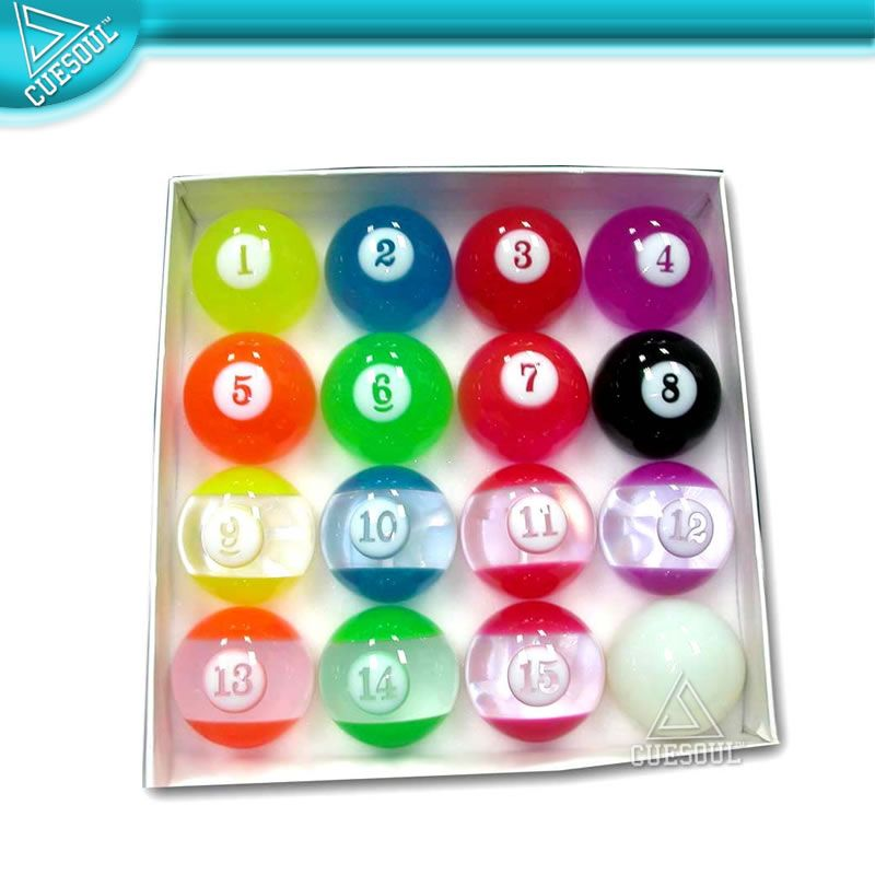 Artistic Clear Grade A Pool Ball Set   Buy Clear Pool Ball Set,Billiard  Ball Set 15 Balls,Pool Balls Set Product On Alibaba.com
