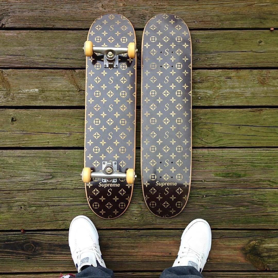 20be2dd5 Supreme x Louis Vuitton Skateboard deck   Louis Vuitton   Supreme ...