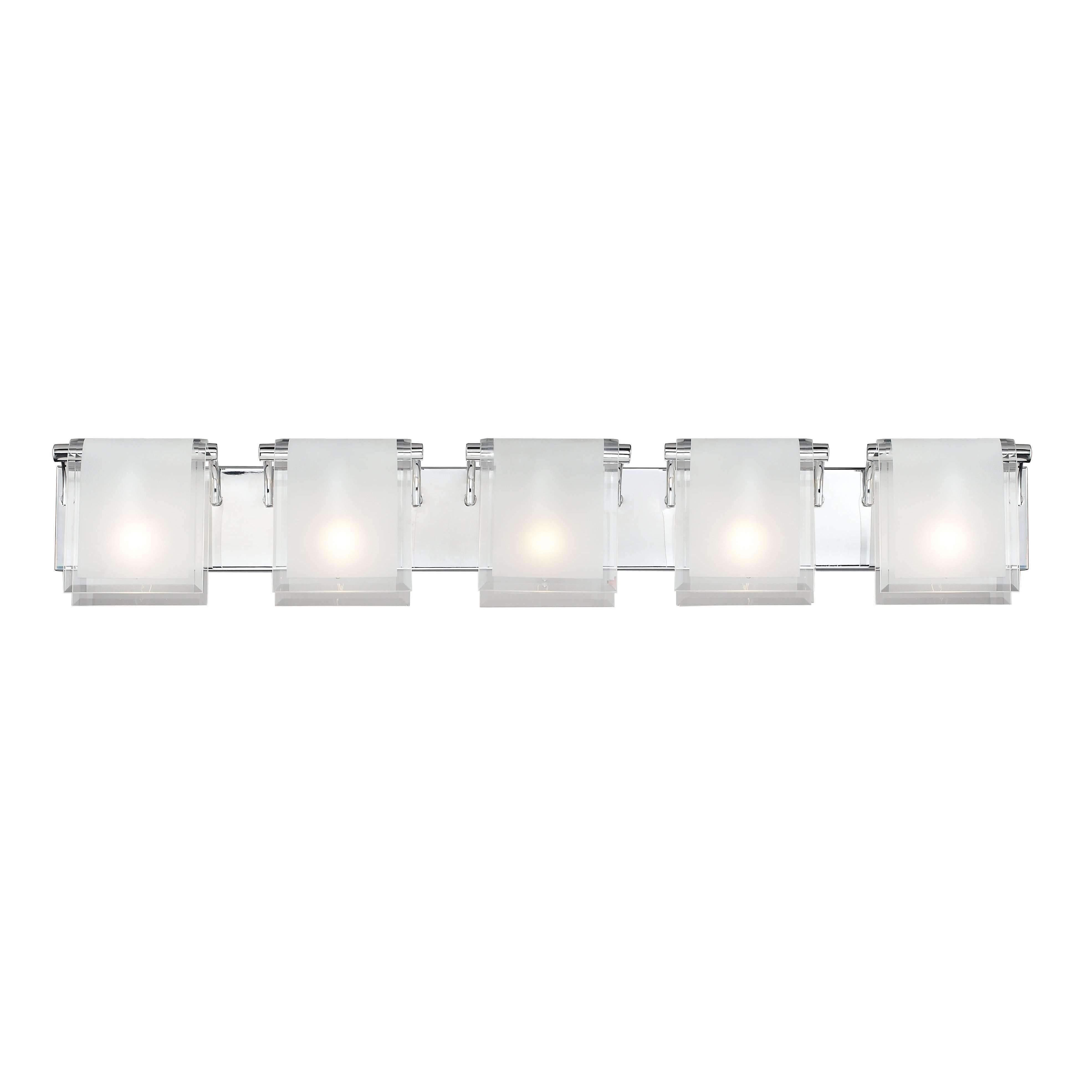 Chrome 5 Light Vanity Style 169 5v