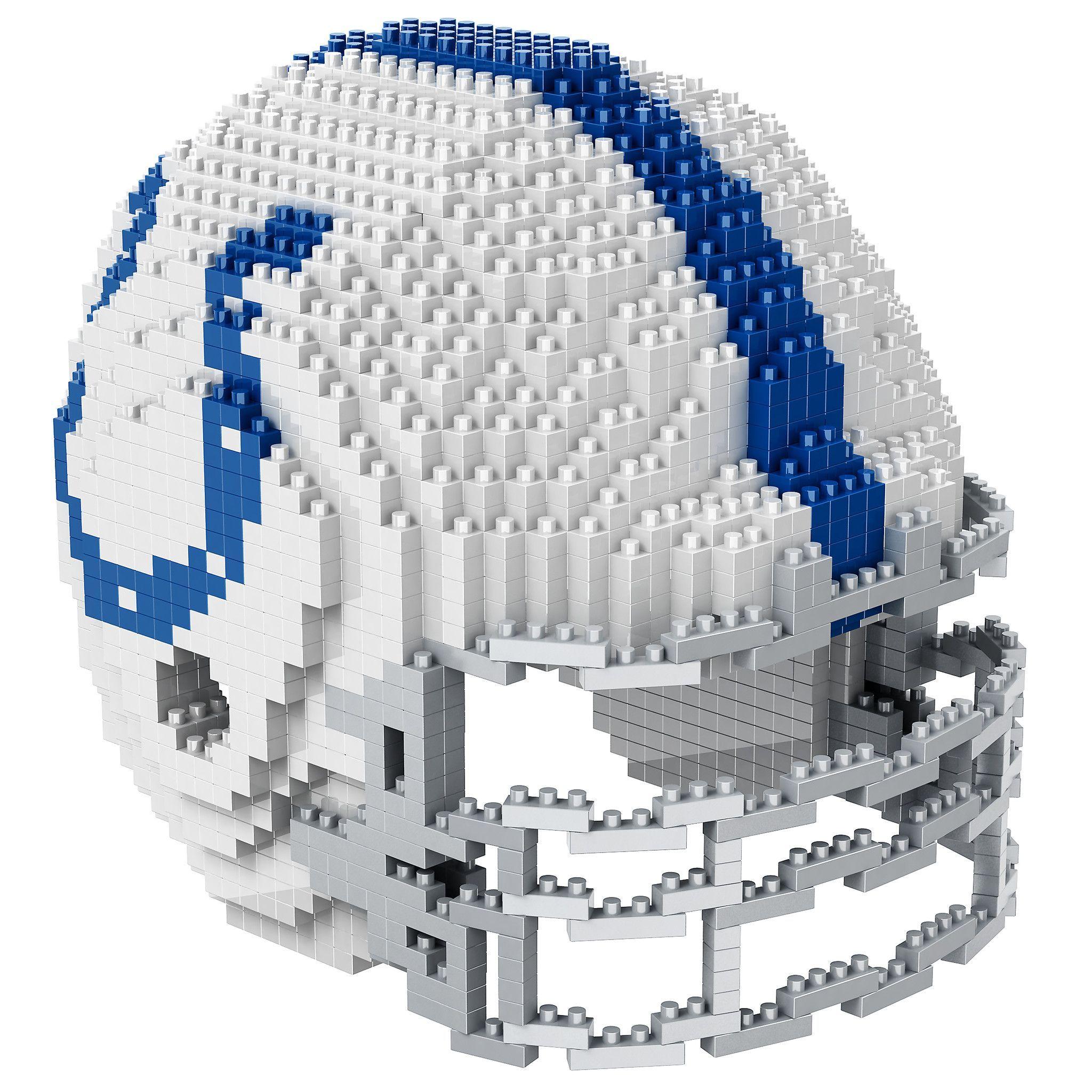 INDIANAPOLIS COLTS NFL 3D BRXLZ PUZZLE HELMET SET   3D BRXLZ PUZZLE ...