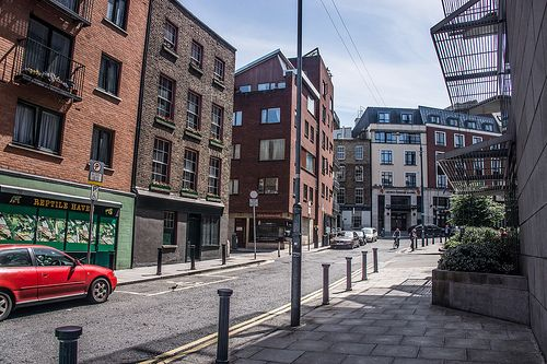 Fishamble Street is a street in Dublin within the old city walls. [The Streets Of Ireland]