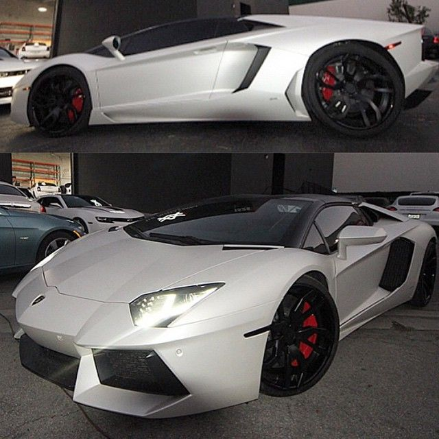 theautofirm matte pearl white lamborghini aventador. Black Bedroom Furniture Sets. Home Design Ideas