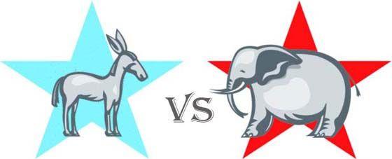 Us Democratic And Republican Logo Designs A Lesson In History