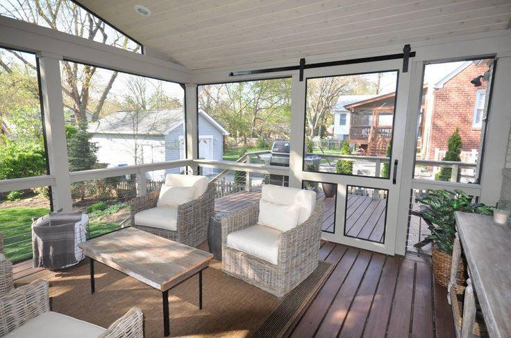 Screened Porches On Pinterest House With Porch Patio House