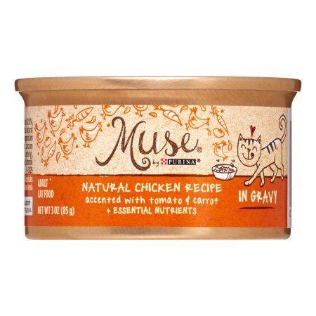 grain free cat food walmart tuna purina muse natural chicken recipe in gravy wet cat food oz 24 pack walmartcom free foodgrain