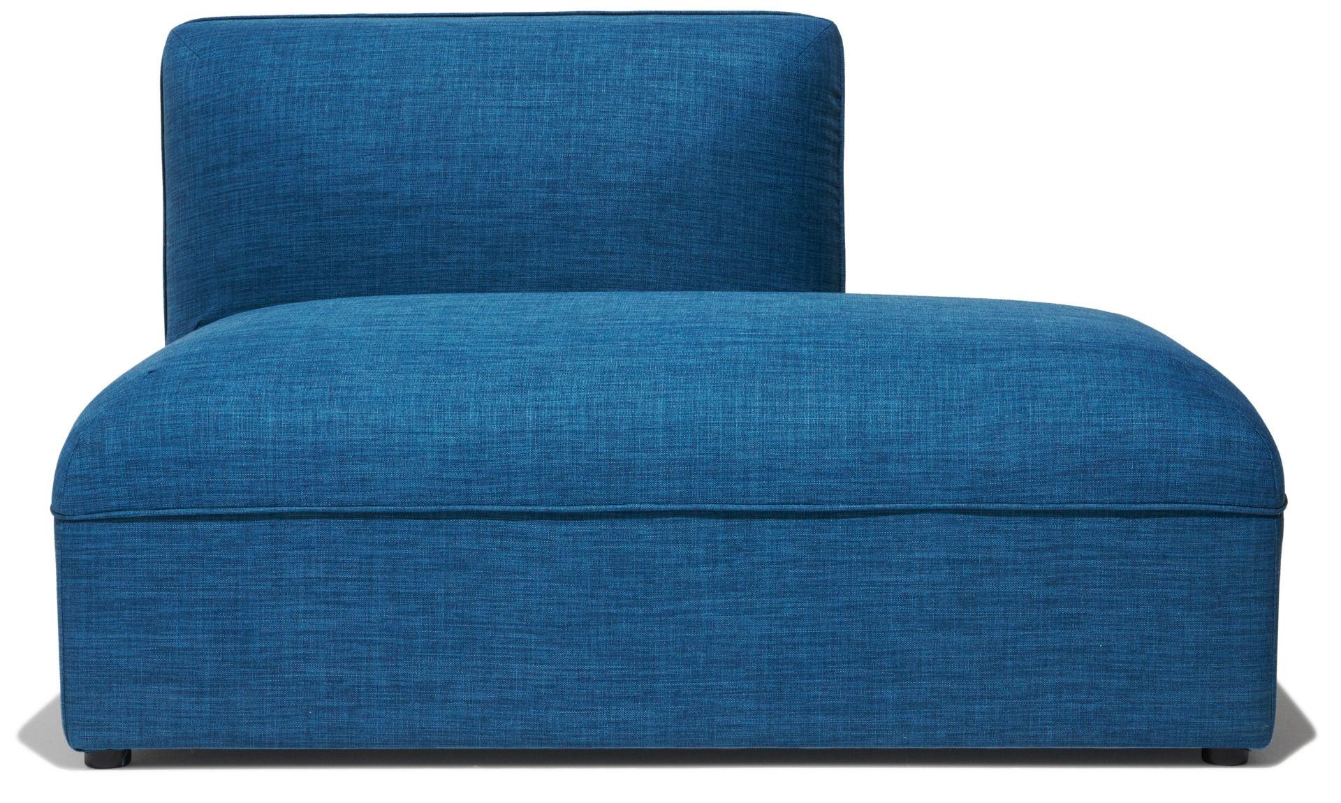 Best Loom Sofa Right End Piece Dark Blue Modular Sofa Sofa 400 x 300