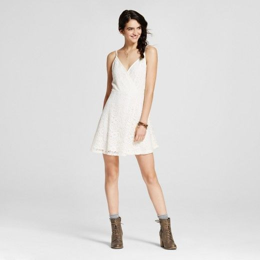 Cream colored lace dresses for women