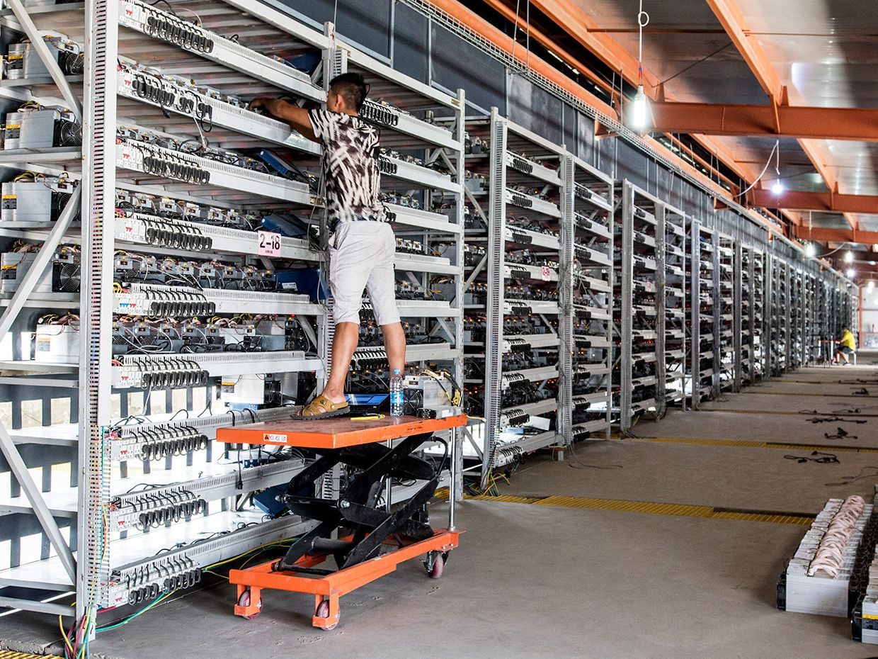 Why the Biggest Bitcoin Mines Are in China Bitcoin