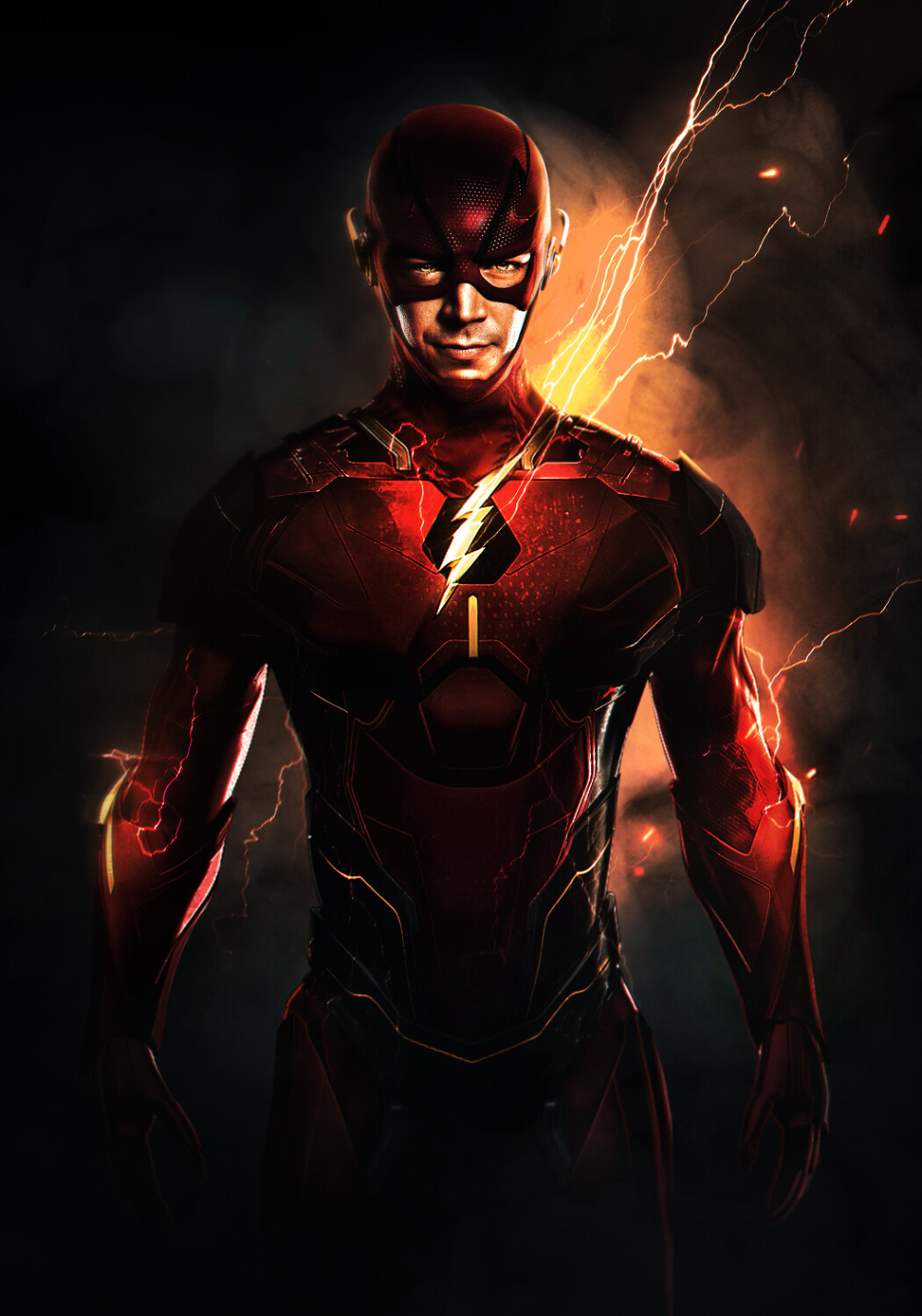 Artstation Cyber Speedsters Flash Reverse Flash And Zoom Mizuri Official In 2020 With Images Flash Wallpaper Reverse Flash The Flash
