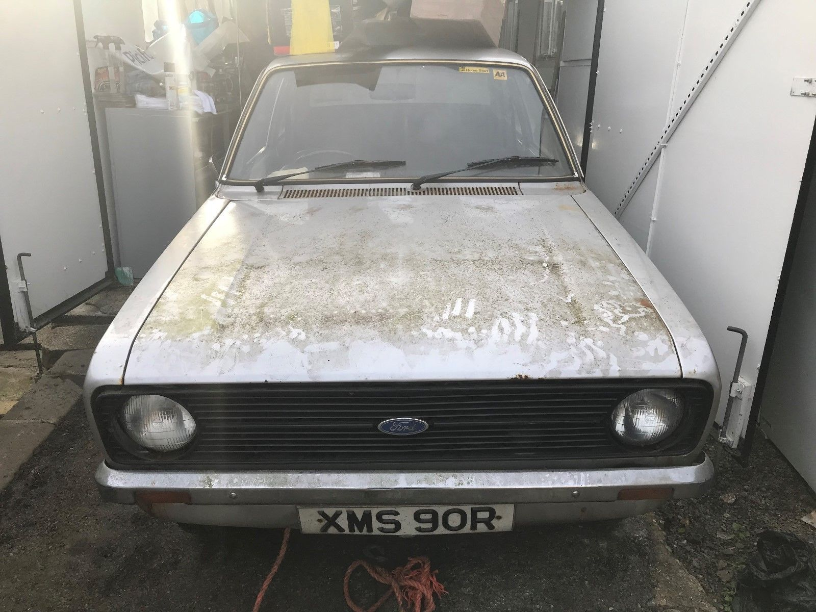 This Ford Escort Mk2 13l 49000 Miles Garage Barn Find English Car Is For Sale