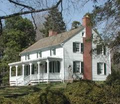 Greek Revival Farmhouse Plans About 1845 Falls Church Va