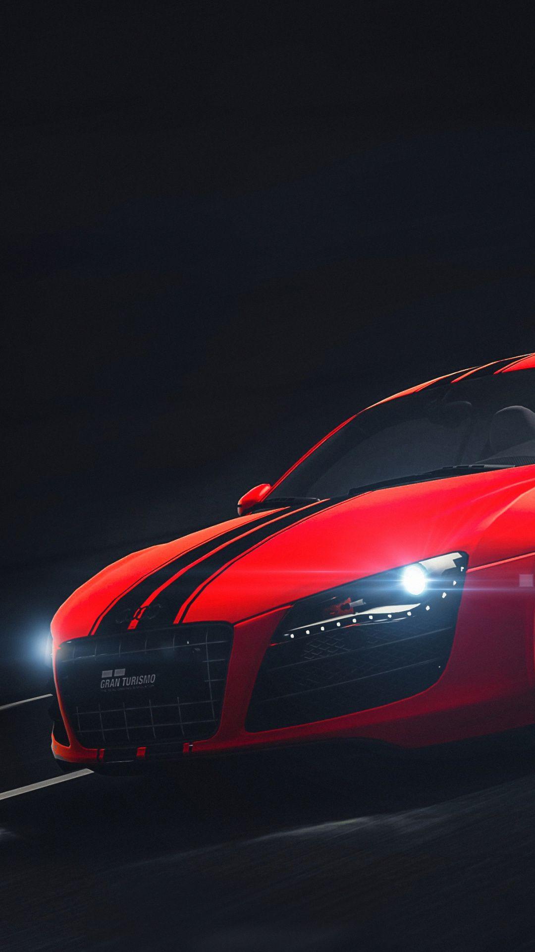 1080x1920 Red Audi R8 Type 42 Wallpaper Red Audi R8 Audi Audi R8