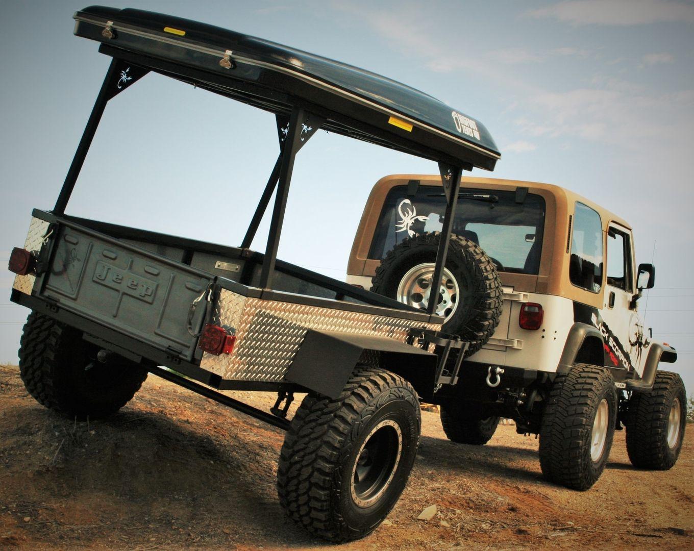 4x4 off road trailer black scorpion off road bigfoot. Black Bedroom Furniture Sets. Home Design Ideas