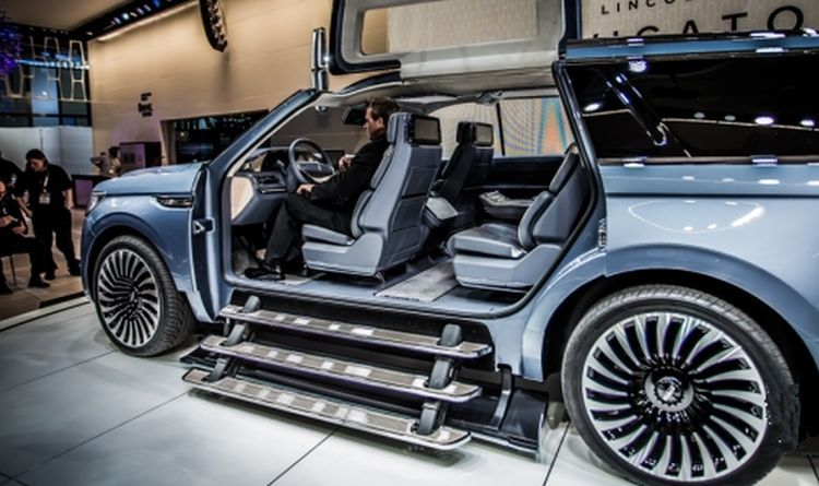 2017 Lincoln Navigator Concept Release