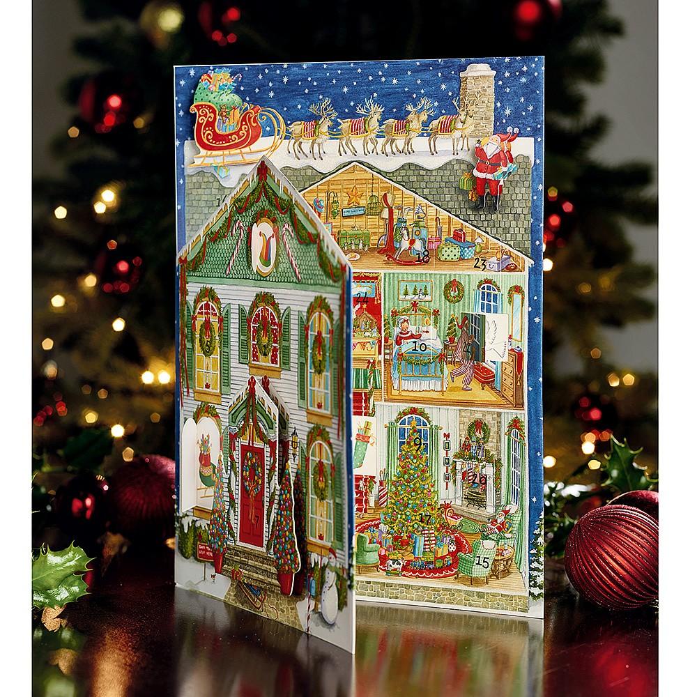 Home for Christmas Advent Calendar Traditional Advent
